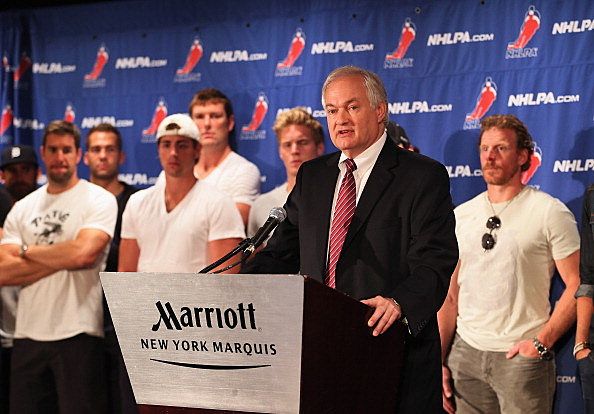 Don Fehr executive director of the NHL