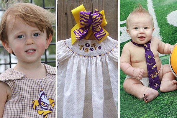 Cute Baby Clothes For The Mini Lsu Tigers Fan In Your Family