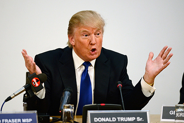 Donald Trump Addresses The Scottish Parliament Over a Proposed Wind Farm Site